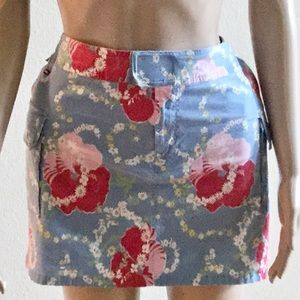 TOMMY HILFIGER Mini Skirt vintage